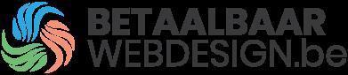 Betaalbaar webdesign.be. Een website VOOR € 250 logo